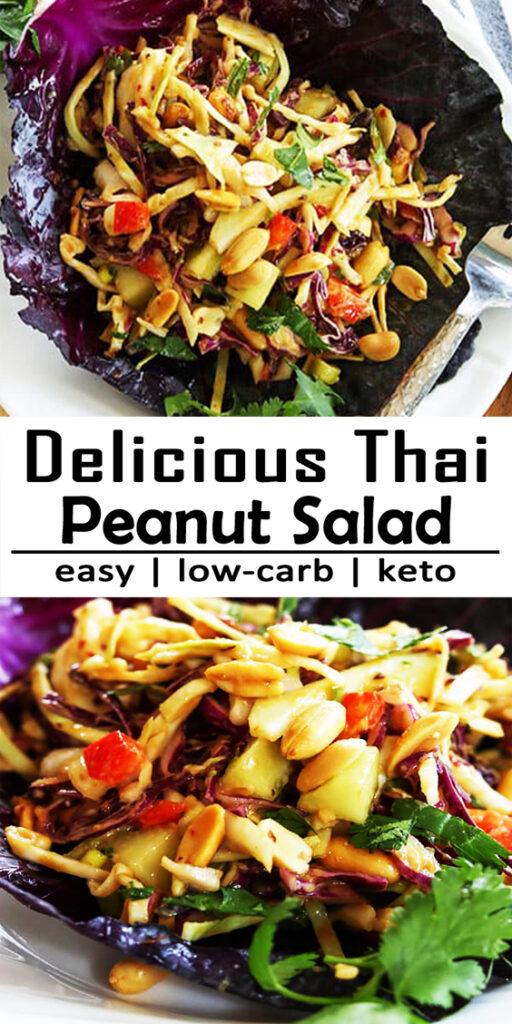 Thai Peanut Salad Recipe